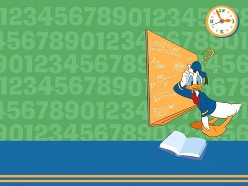 Happy Maths with Donald