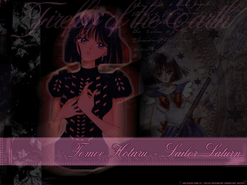 Sailor Saturn wallpaper containing Anime entitled Hotaru/Saturn/SS/M9