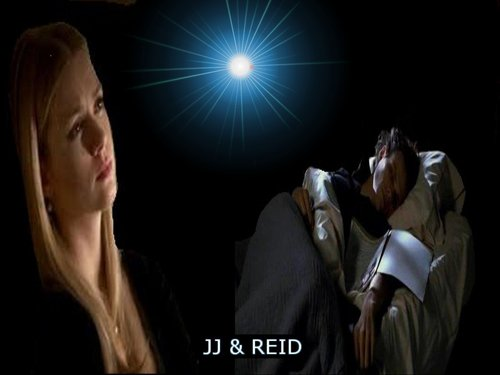 Dr. Spencer Reid wolpeyper called JJ & REID