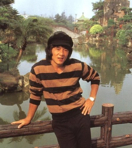 Jackie Chan wallpaper probably containing a canal boat entitled Jackie