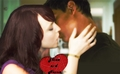 Jake and Nessie kissing - jacob-black-and-renesmee-cullen photo