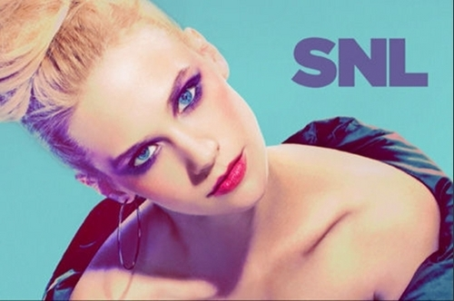 January Jones - SNL Promotional fotos
