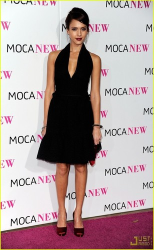 Jessica @ MOCA New 30th Anniversary Gala