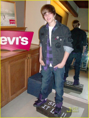 Justin at Levi's Showroom