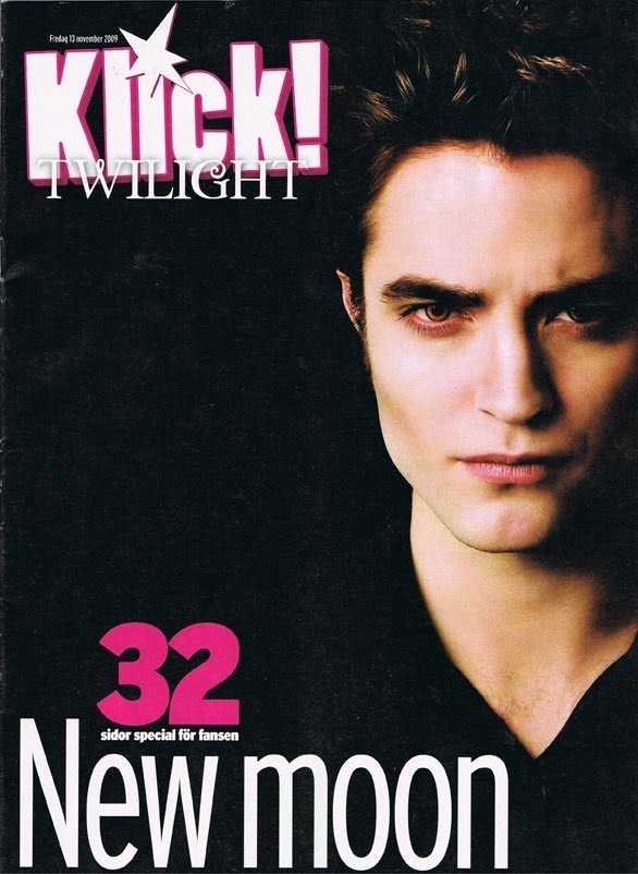 Klick Magazine Scans (Sweden): New Moon Special