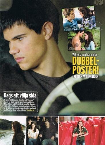 Klick Magazine Scans (Sweden): New Moon Special