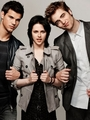 Kristen Stewart, Taylor Lautner & Robert Pattinson EW photos! - twilight-series photo