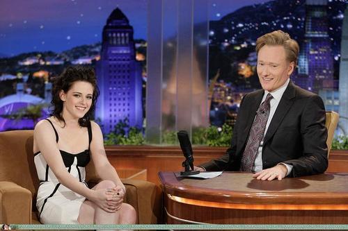 Kristen on Conan live show