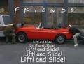 Lift and Slide - friends fan art
