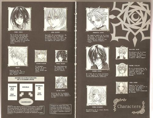 Vampire Knight karatasi la kupamba ukuta probably containing a sign called Light Novel