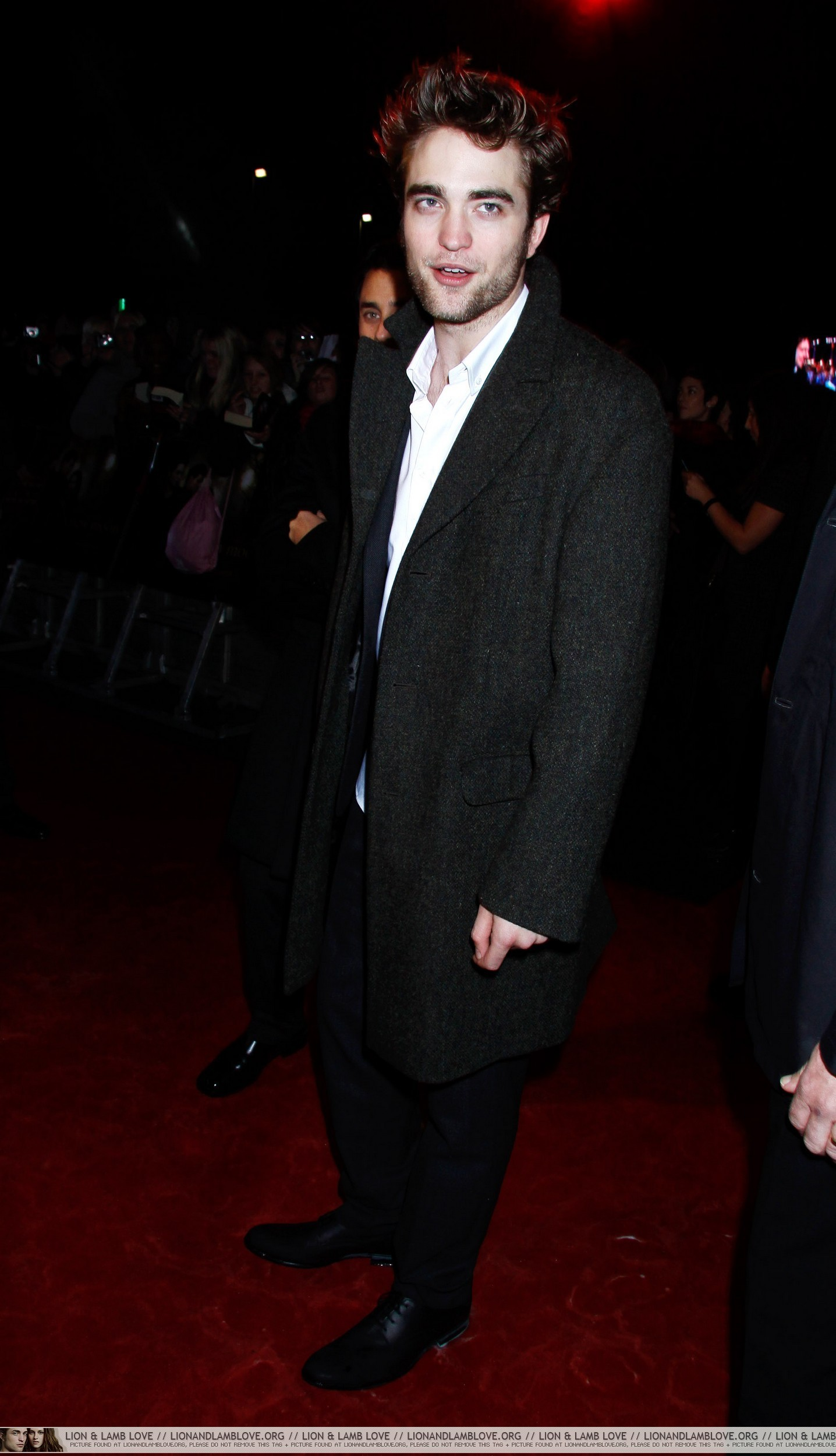 Londres Red Carpet -Robsten and Taylor