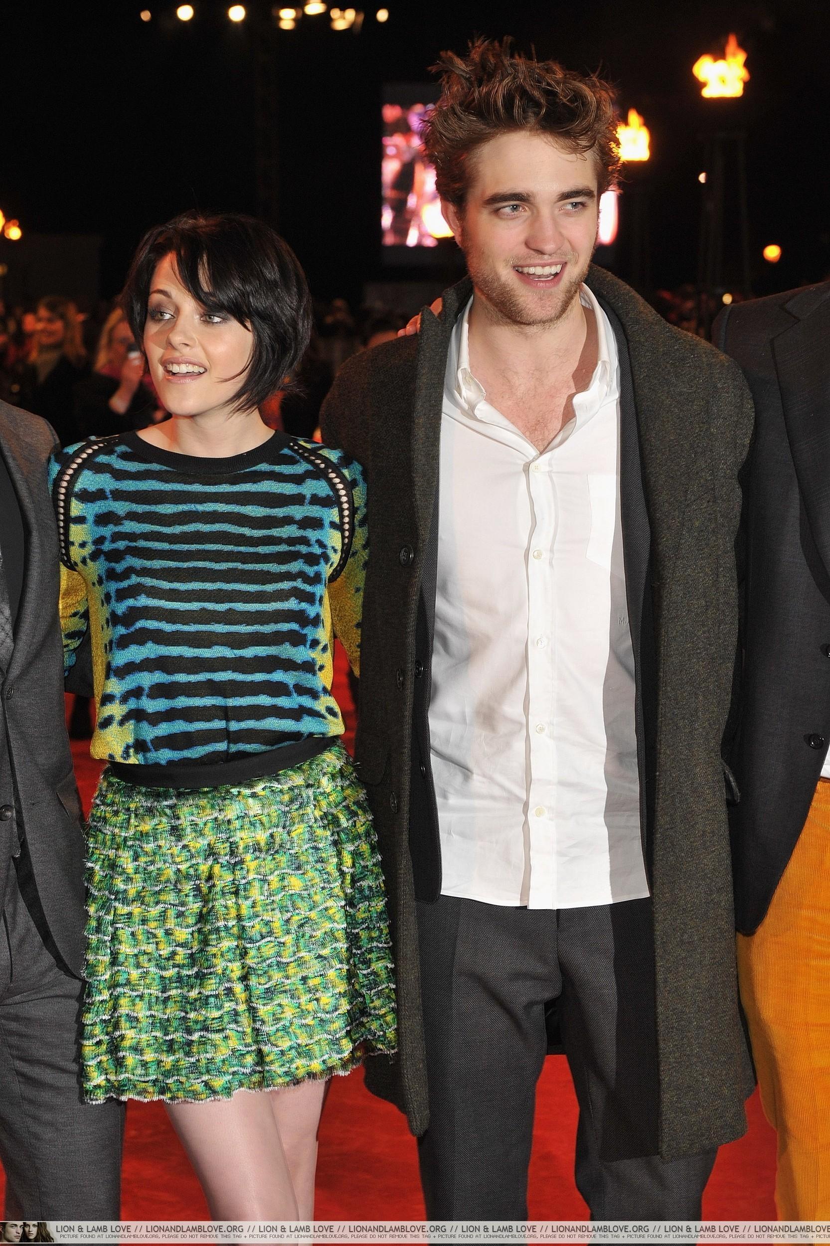 런던 Red Carpet -Robsten and Taylor