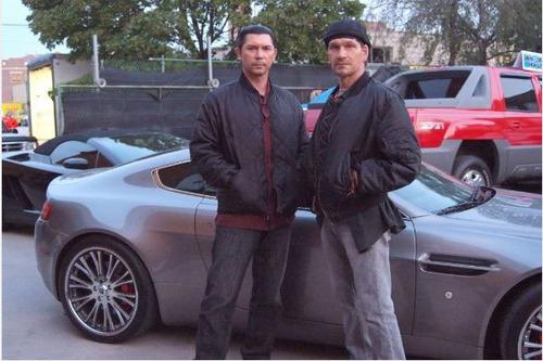 Lou Diamond Phillips and Patrick Swayze
