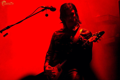 Marilyn Manson wallpaper with a guitarist and a concert entitled MM concert in in Moscow, 13 Nov 2009 (Friday, 13th)