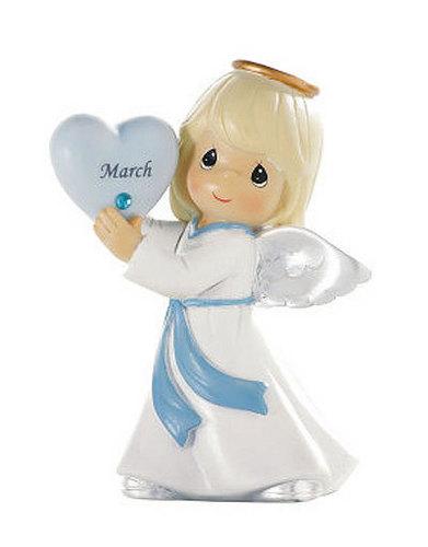 March Angel Birthstone