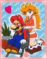 MarioxPeach massage - mario-and-peach fan art