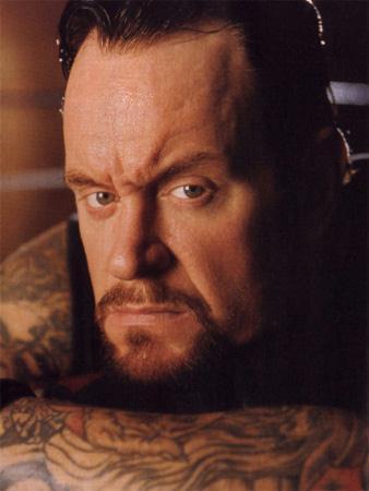 Undertaker achtergrond titled Mark Calaway