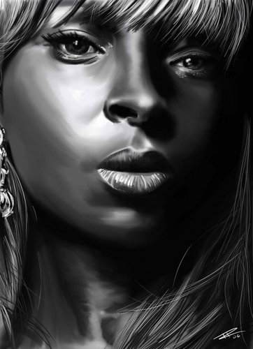 Mary J. Blige Portrait
