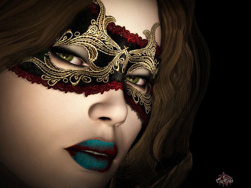 Masks - Masquerade Fan Art (9009730) - Fanpop