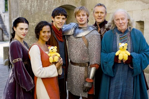 Merlin Cast Fotos