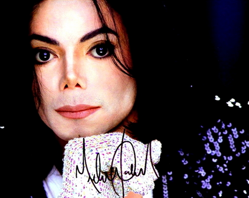 Michael <3 with autograph