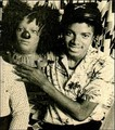 Michael And His Scarecrow Likeness - michael-jackson photo