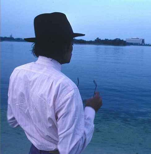 Michael Enjoying Nature's Beauty