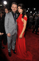 Michael Sheen and Ashley Greene at the New Moon premiere - michael-sheen photo
