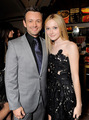 Michael Sheen and Dakota Fanning at the New Moon premiere - michael-sheen photo