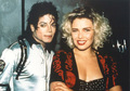 Michael and KIM - michael-jackson photo