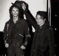 Mike & WaxMike - michael-jackson photo