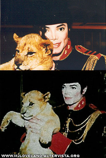 Mike and Lion Cub