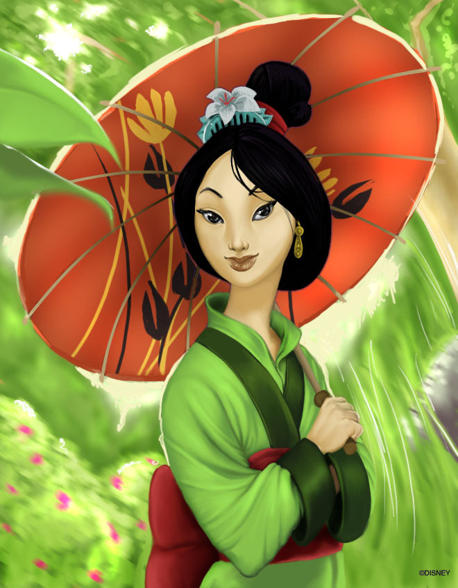 Princess Mulan Disney