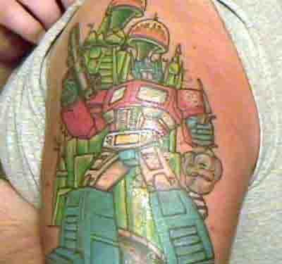Tattoos wallpaper titled My Optimus Tattoo