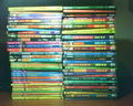 My R. L. Stine's collection