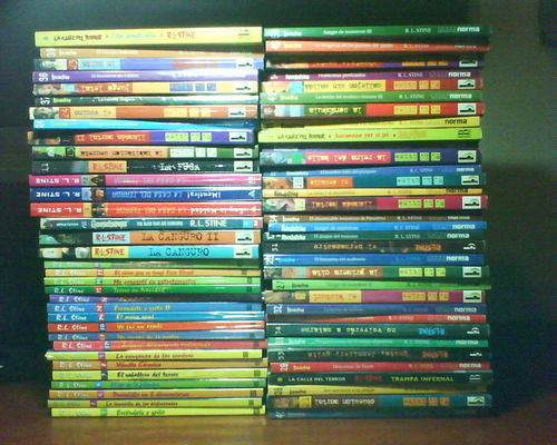 My R. L. Stine's collection