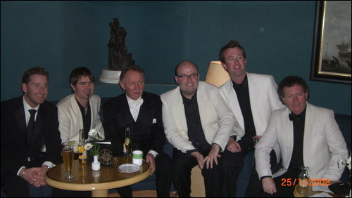 Neil, Paul, Phil and some other guys