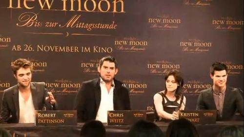 New Moon Cast and Director at The Munich Press Conference