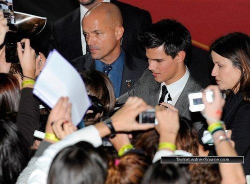 New Moon Madrid người hâm mộ Event (12 november)