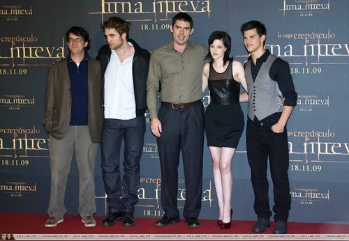 New Moon Madrid Photocall (12 november)