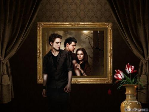 Twilight Series wallpaper possibly containing a drawing room and a living room titled New Moon