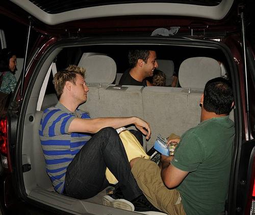 Nick, Howie, AJ