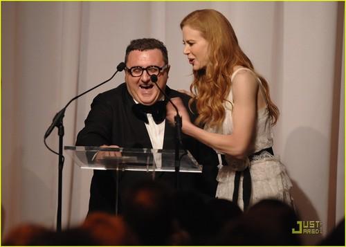 Nicole @ 2009 CFDA/Vogue Fashion Fund Awards