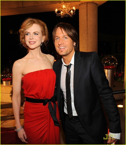Nicole & Keith @ 2009 BMI Country Awards