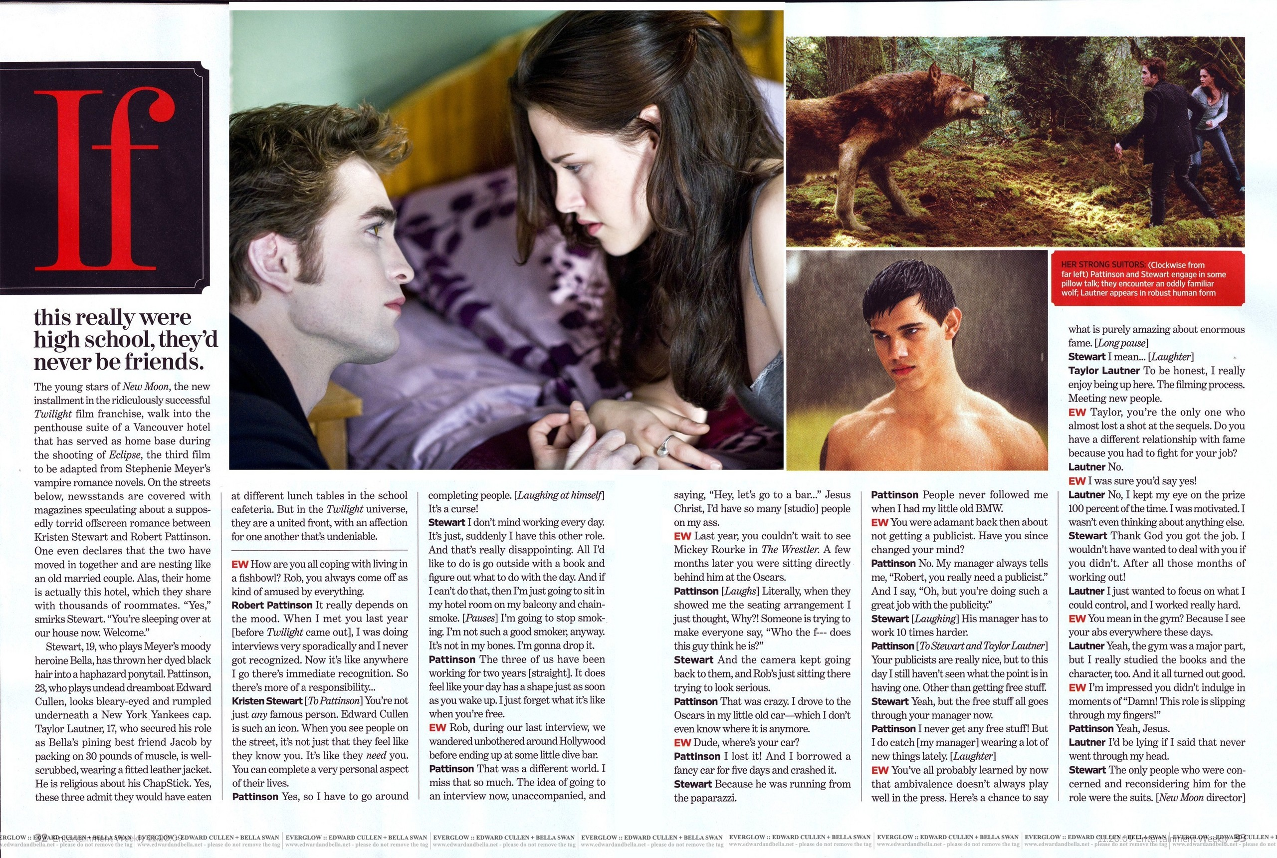 November 20, 2009 Entertainment Weekly LARGE SCANS