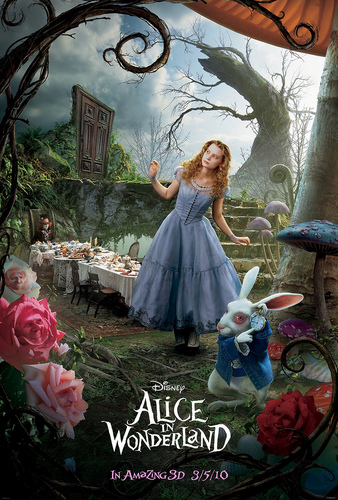 Official Alice in Wonderland Poster 2