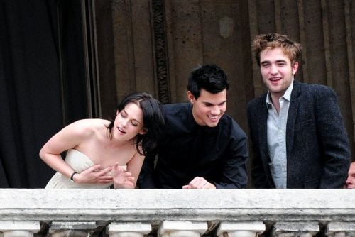 Twilight Series wallpaper titled Paris Photocall 10.11.09