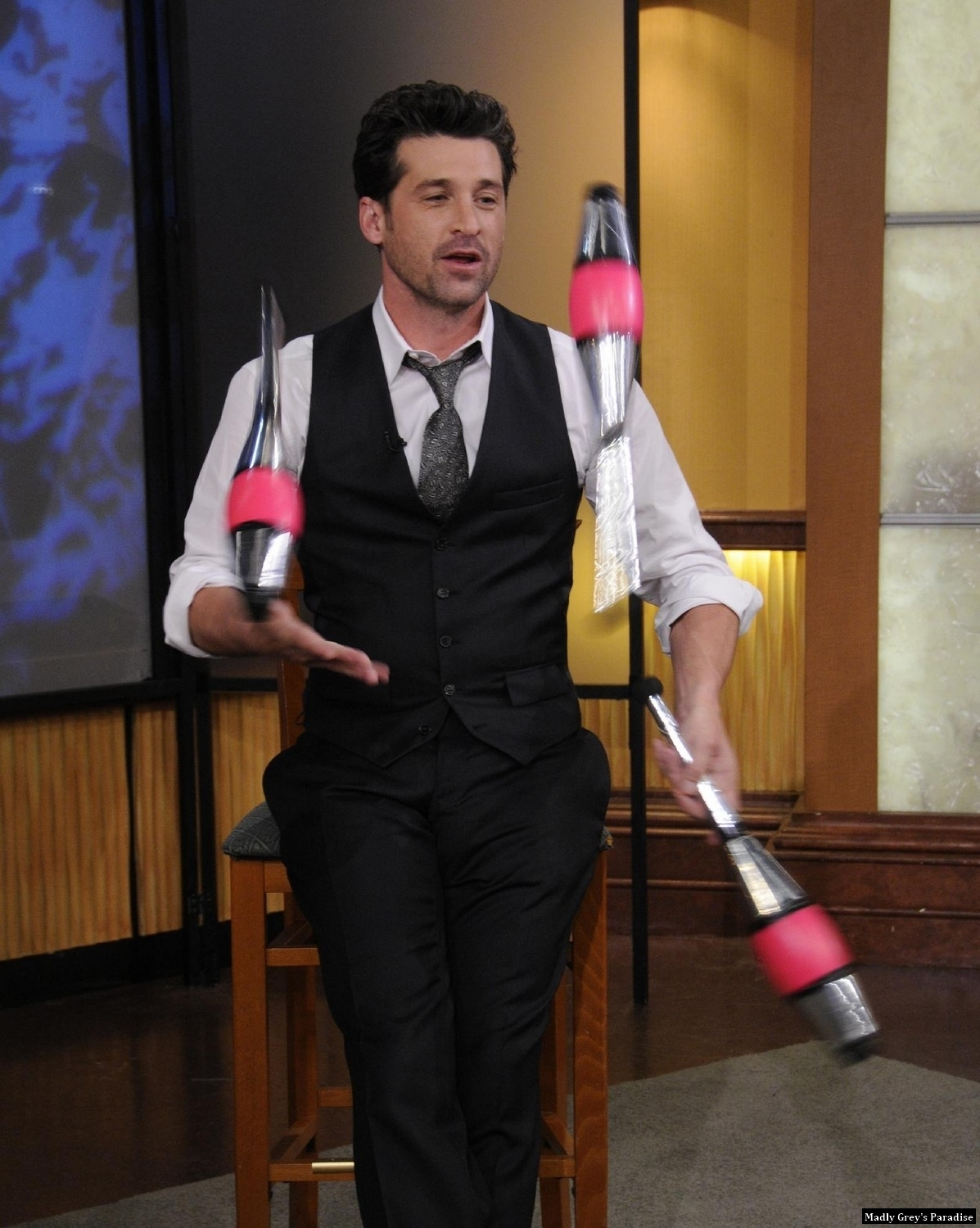 Patrick Dempsey on Good Morning America - patrick-dempsey photo