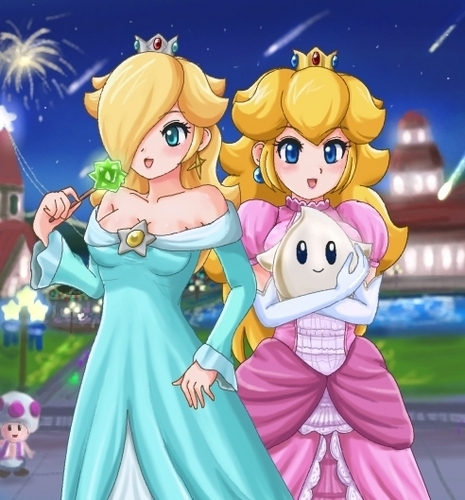 Peach and Rosalina Festival