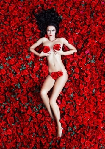 Greece's Next Top Model wallpaper containing skin titled Photoshoot 'American beauty'